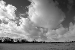 Stormy skies over Ashton Park, Preston | by Tony Worrall