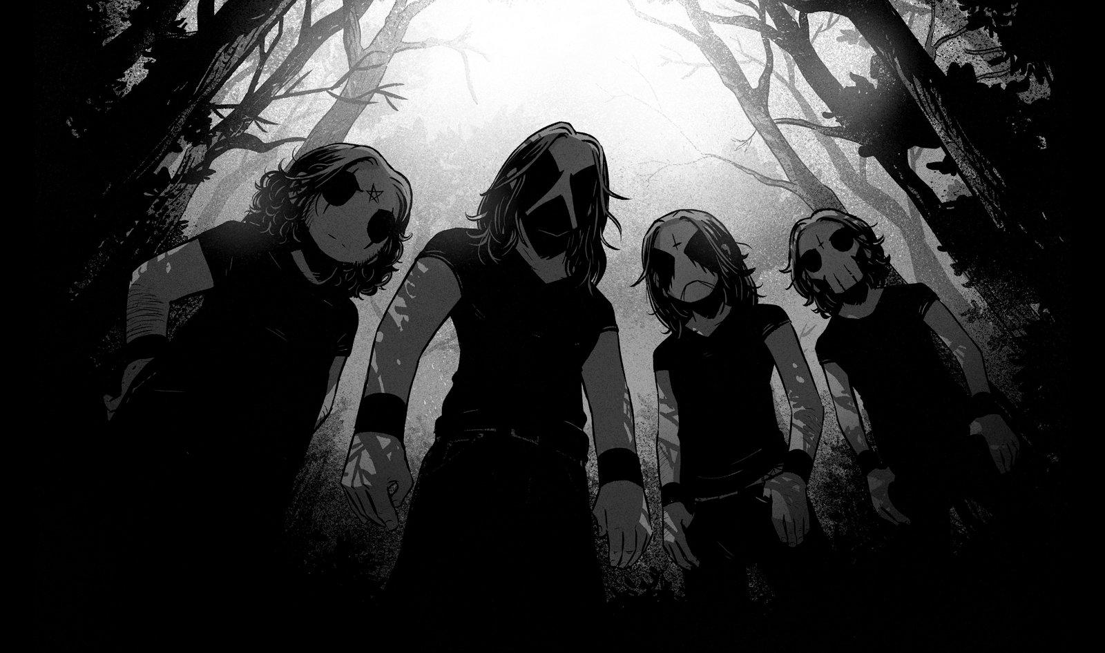 虛擬黑金屬樂團 Belzebubs 發布新曲影音 Cathedrals Of Mourning