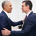 Pedro Sánchez se reúne con Barack Obama (03/01/2019)