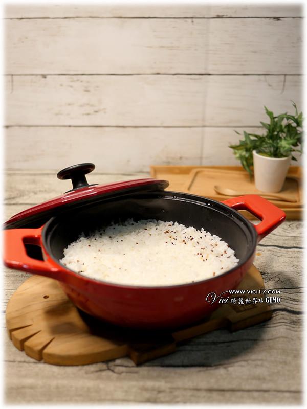 鑄鐵鍋煮飯022