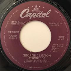 GEORGE CLINTON:ATOMIC DOG(LABEL SIDE-B)