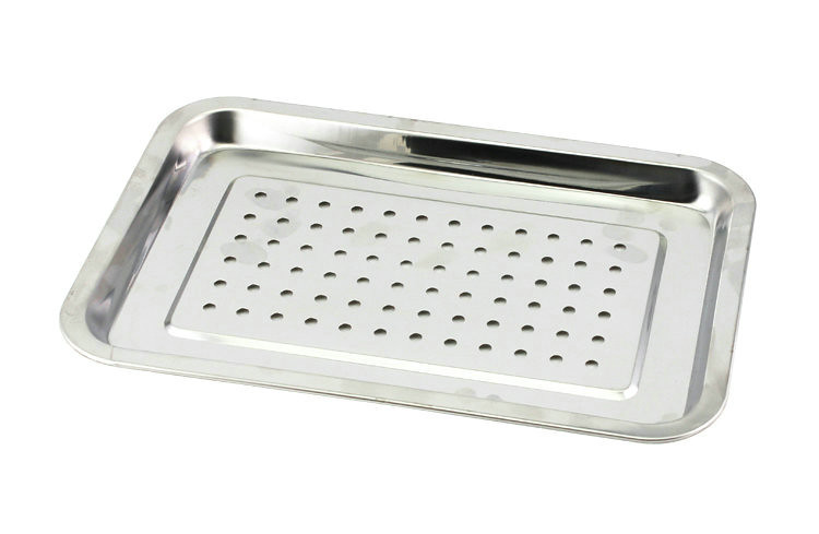 Rectangle Stainless Steel Tea Tray with Water Tank 5 Variations