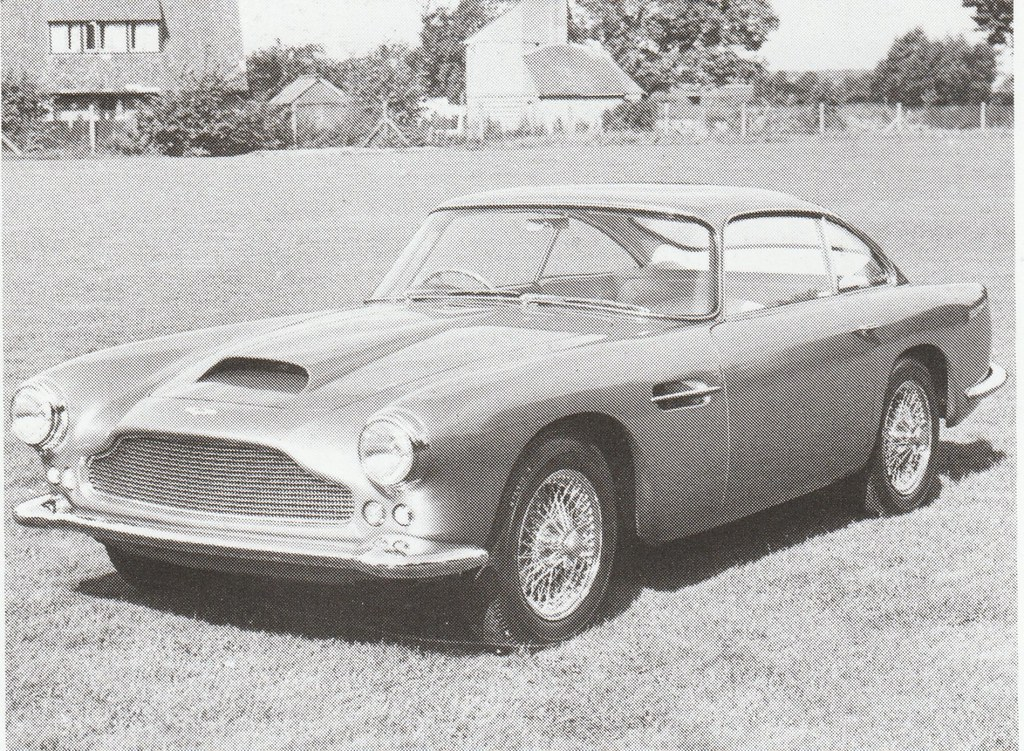 1958 Aston Martin Db4 Press Photo England Covers The 195 Flickr