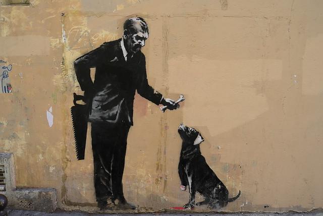 France - Paris - Capitalism by Banksy