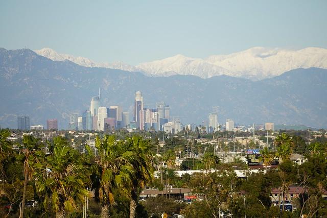 Snow Above LA: Afternoon