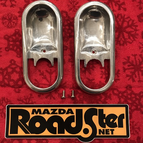 FS: CarbonMiata Polished Aluminum Door cups | by phatmiata