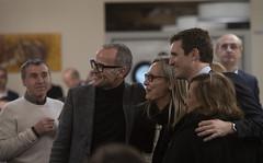 Pablo Casado en una comida con afiliados del PP en Ourense