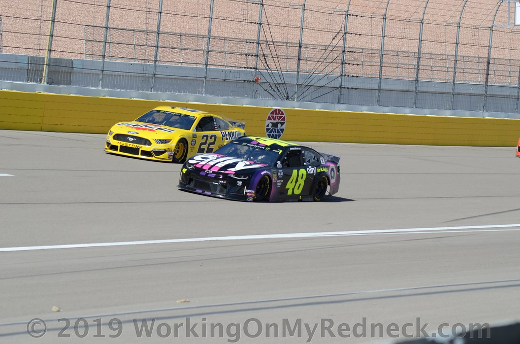 Jimmie Johnson & Joey Logano