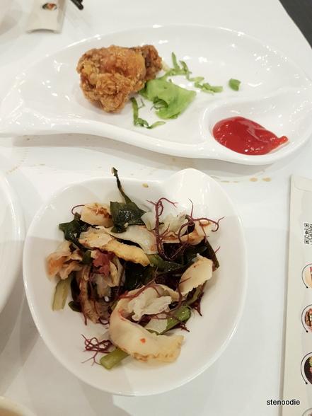 Chicken Drumstick, Tokyo Salad
