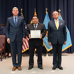 Vi, 03/29/2019 - 14:27 - On Friday, March 29, 2019, the William J. Perry Center for Hemispheric Defense Studies hosted a graduation ceremony for two courses: 'Strategic Implications of Human Rights and Rule of Law' and 'Combating Transnational Threat Networks.' Students from all over the Americas attended the courses from March 18-29, 2019. The graduation ceremony and reception took place in Lincoln Hall at the National Defense University's North Campus at Fort McNair in Washington, DC.