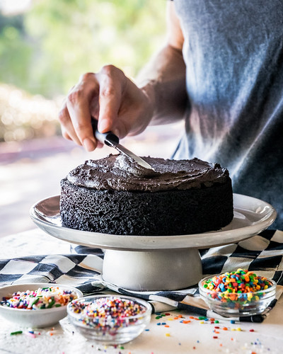 you gotta have a thick layer of chocolate frosting | by Husbands That Cook