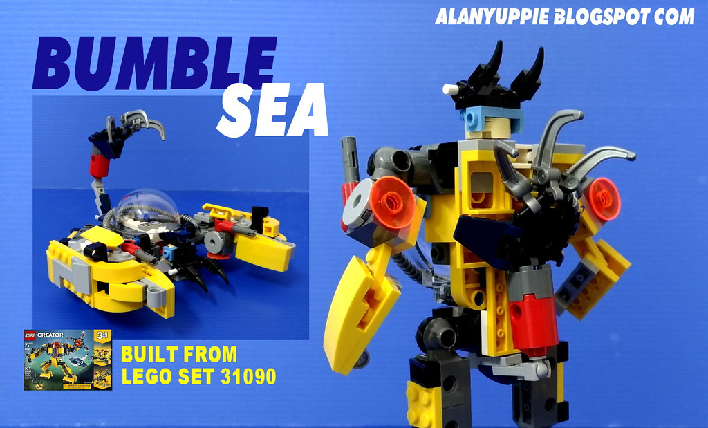 LEGO Creator 31090 Underwater Robot Alternate Design aka B… | Flickr