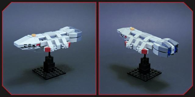 Orpheus Class Battlestar