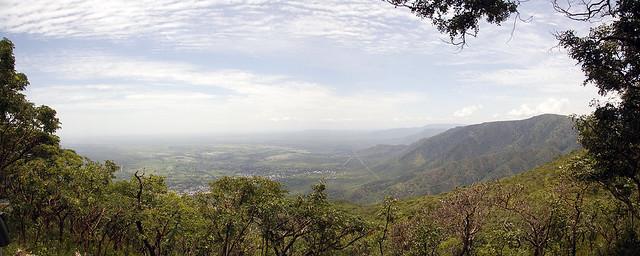 View from the Chimala Escarpment Kitulo Plateau in southern Tanzania
