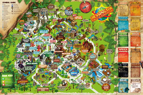 Chessington World Of Adventure 2018 Park Map | by ThemeParkMedia