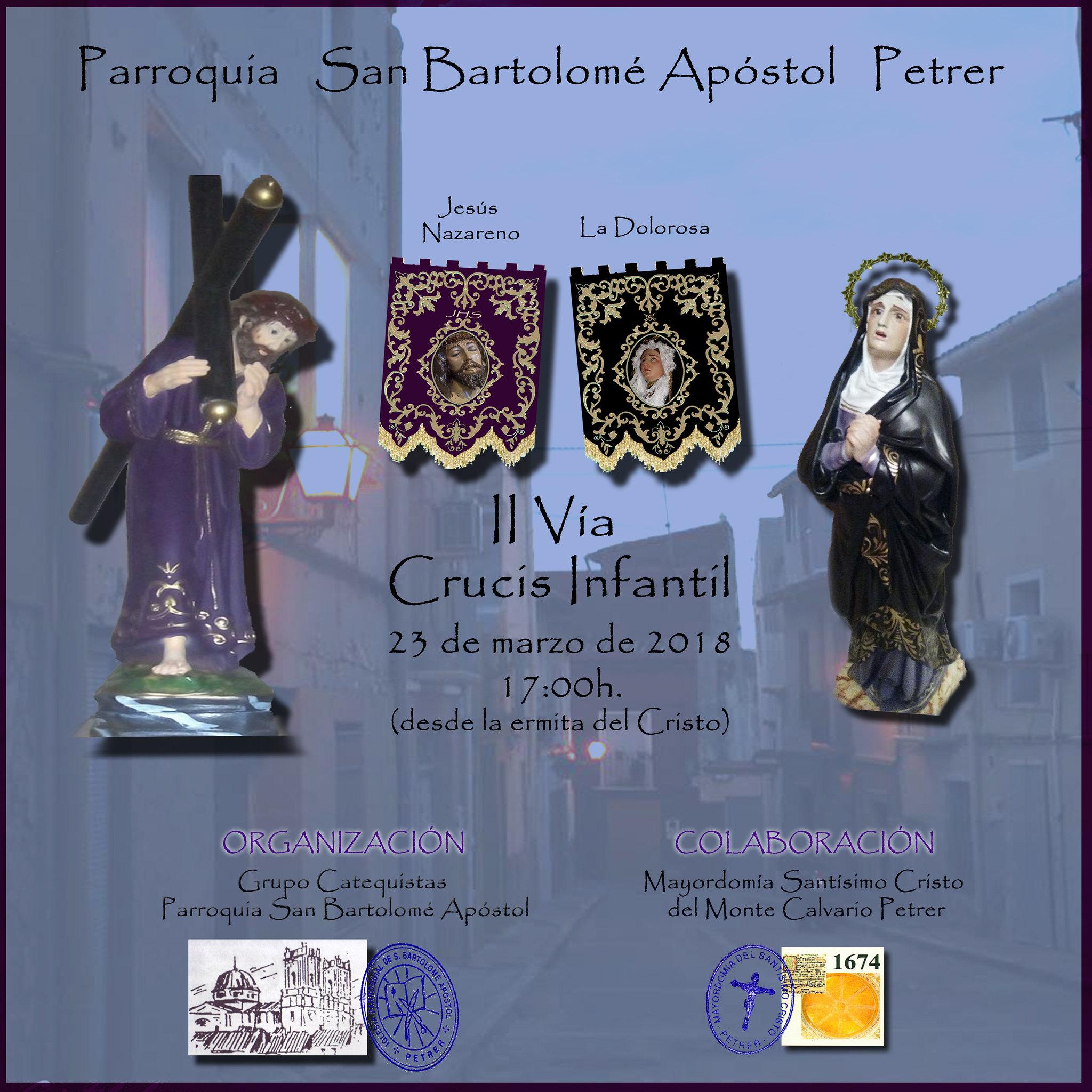 II Vía Crucis Infantil (2018-03-23)