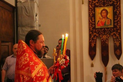 Пасхальное Богослужение в Свято-Никольском храме станицы Кавказской IMG_1320