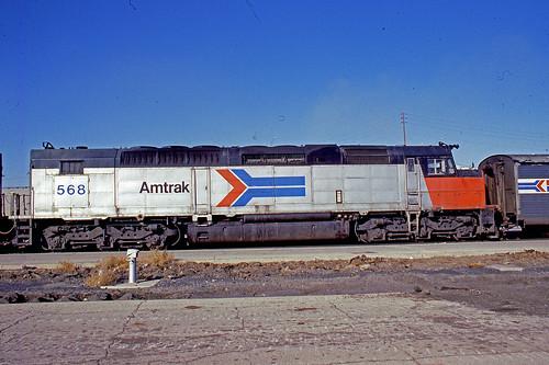amtrak amtraktrains amtrakmotivepower amtraklocomotives elpasotexas sdp40f amtraksdp40flocomotives amtraksdp40f sunsetlimited amtrakssunsetlimited amtraksdp40fno568