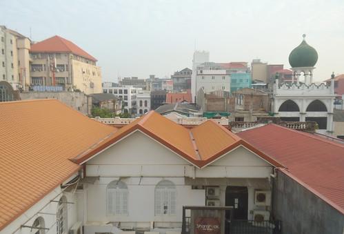srilanka southasia colombo window hotel view rooftops skyline