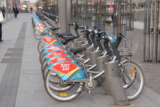Dublinbikes - Just Eat