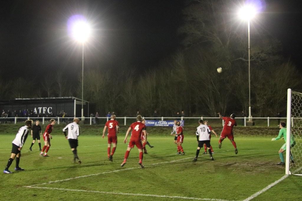 Amersham Town v Risborough Rangers (1-3) 12/02/2019