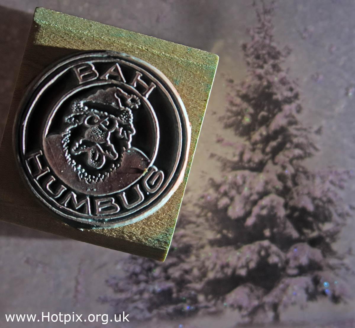 HousingITguy,Project365,2nd 365,HotpixUK365,Tone Smith,GoTonySmith,365,2365 one a day,Tony Smith,Hotpix,Christmas,Stamp,Bah Humbug