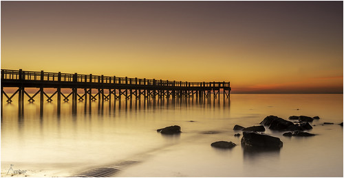 milford connecticut newengland beach sea ocean rock usa seascape morning sunrise dawn goldenhour longexposure color naturephotography winter