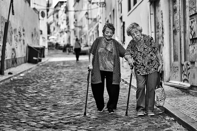 Lissabon Gente de Lisboa 162-2 bw