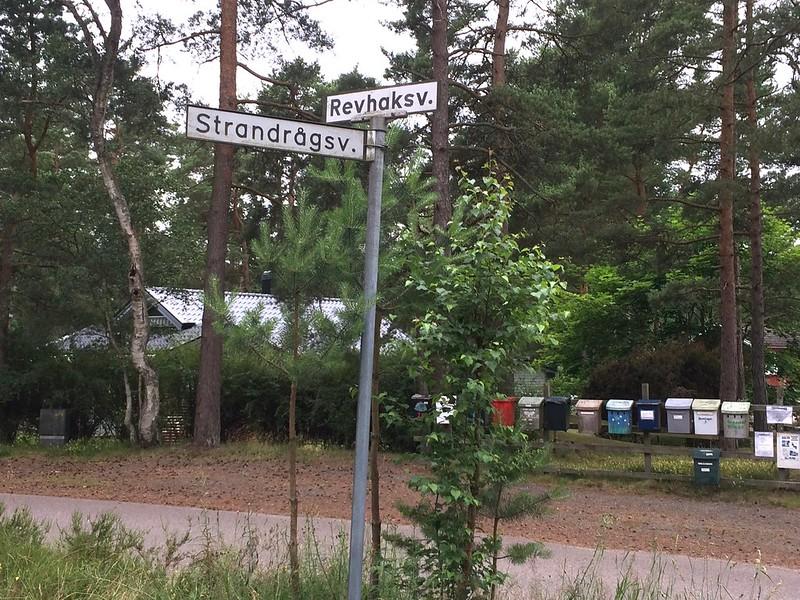 Ahus street names