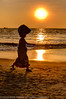 Lady On Beach - Goa by Nickflick1961