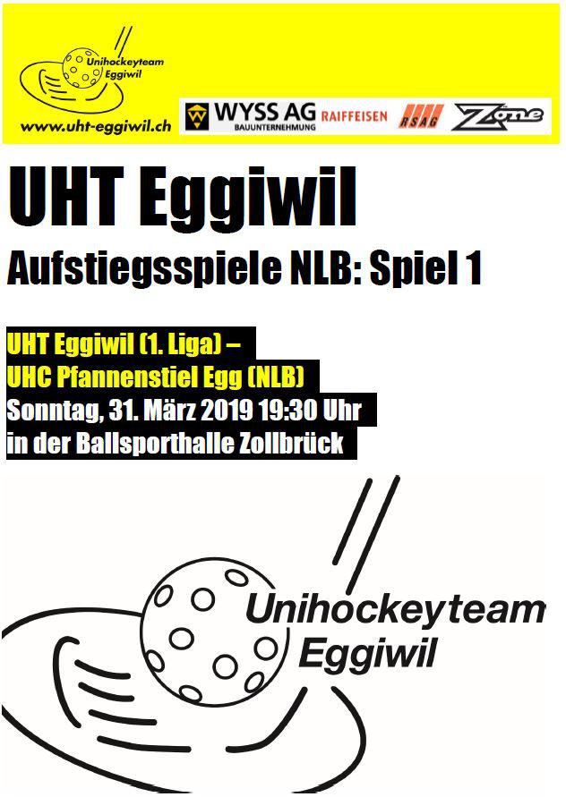 Herren l - UHC Pfannenstiel Egg, Saison 2018/19