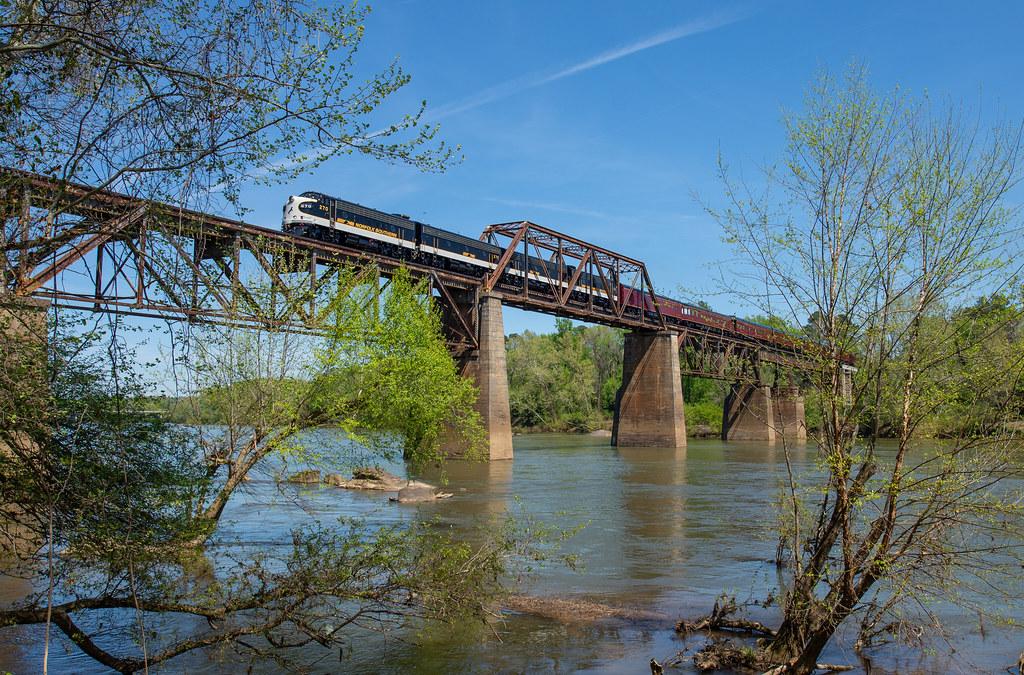 Framed Over the River