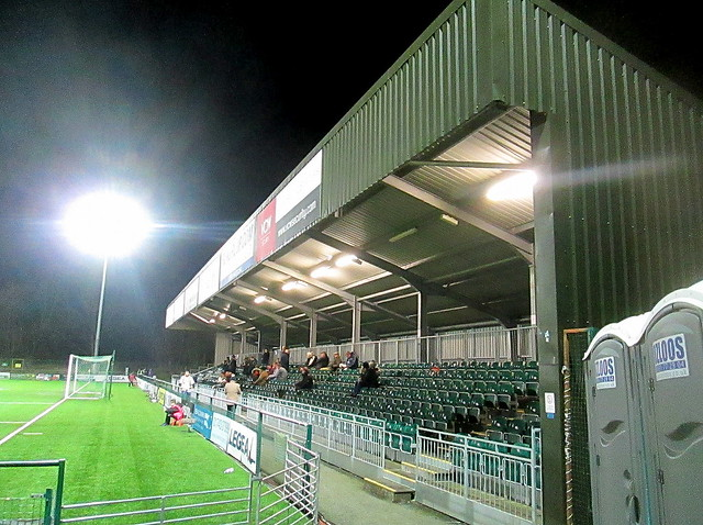 Park Hall Stadium Main Stand
