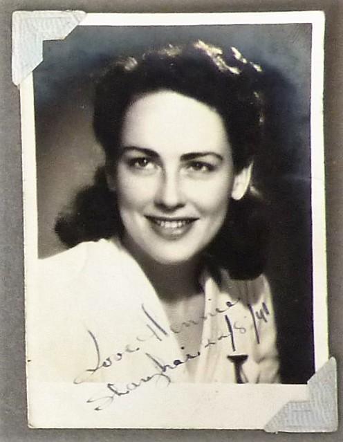 Hennie van Senden, August 1941