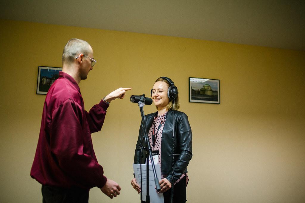 Audiobudka – tu każdy miał szansę wypróbować swoje aktorskie zdolności