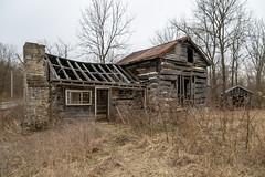 Log House — Salem Township, Warren County, Ohio