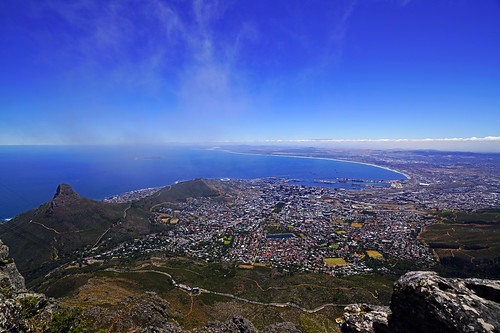 Cape Town & Table Bay from Table Mountain, South Africa | by Andrey Sulitskiy