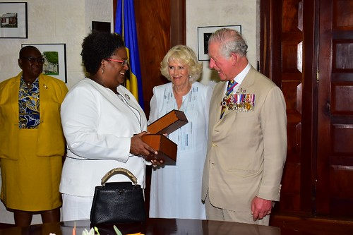 Prime Minister Mia Amor Mottley meets Their Royal Highnesses (2) | by barbadosgovernmentinformationservice