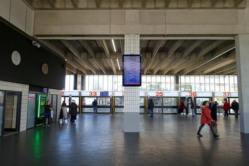 Inside Preston Bus Station | by Tony Worrall