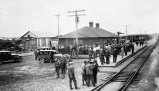 Temiskaming and Northern Ontario Railway station, Kirkland Lake, Ontario / Gare de la Temiskaming and Northern Ontario Railway, Kirkland Lake (Ontario)