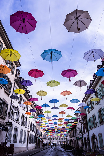 Rain of colors