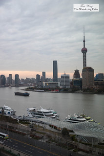 The view of The Bund during sunrise | by thewanderingeater