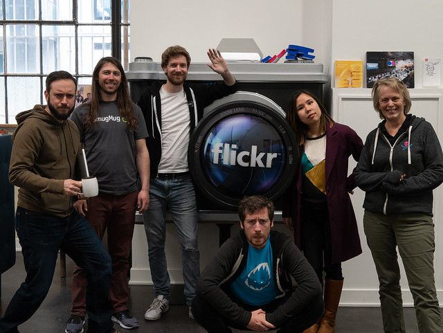 Yerusha visits Flickr HQ
