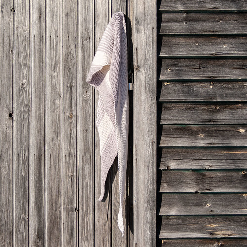 Scarf on a shed | by Winterbound