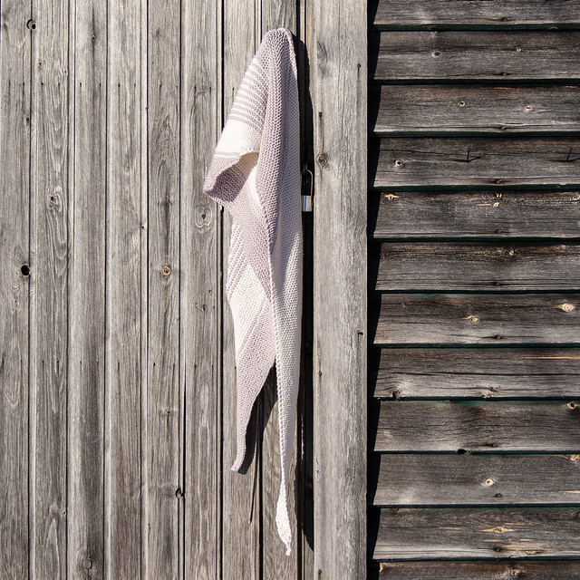 Scarf on a shed