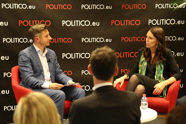 2019-01-25 | POLITICO Live Interview with Jacinda Ardern
