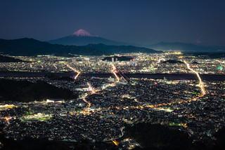 Mt. Fuji over Shizuoka City | by Yuga Kurita