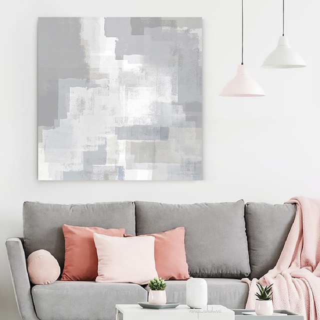 'Gray on Grey Abstract' by Menega Sabidussi #abstract #art #interiorstyling #buyart #artprints #canvasprint #society6 #wallart http://bit.ly/2RyrJLI