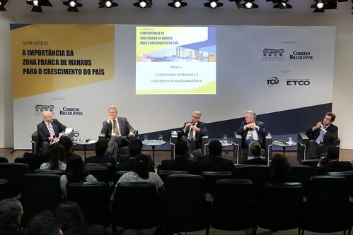 """Seminário """"A importância da Zona Franca de Manaus para o crescimento do país"""" - 11/4/2019"""