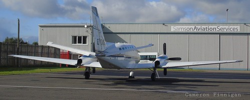 EI-DMG Cessna 441 Conquest at Newcastle Airport | by Cameron Finnigan